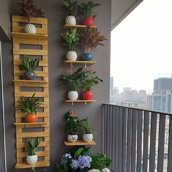 استند دیواری چوبی SA 006
