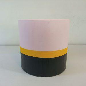 تصویر محصول گلدان بتنی 3 رنگ