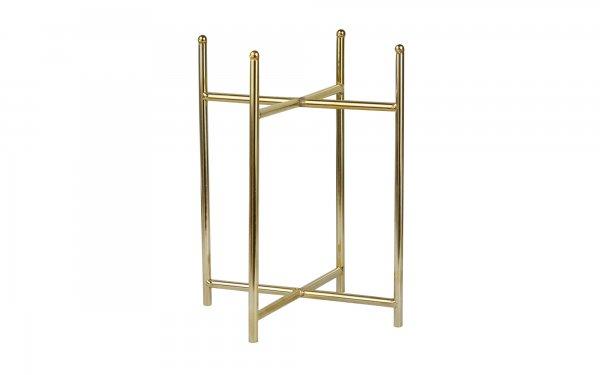 پایه گلدان فلزی با ارتفاع 35 سانتیمتر